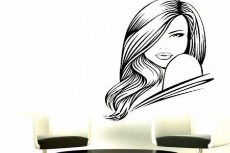 Hair clipart beauty shop Clip Clip Stylist Vintage Art