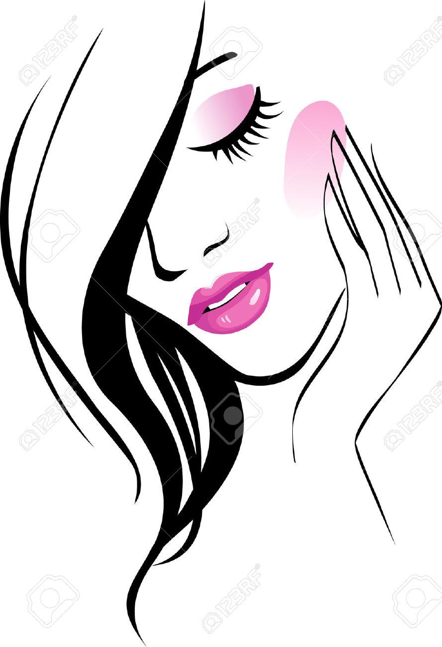 Beautiful clipart beauty salon Salon Art Savoronmorehead Art Beauty