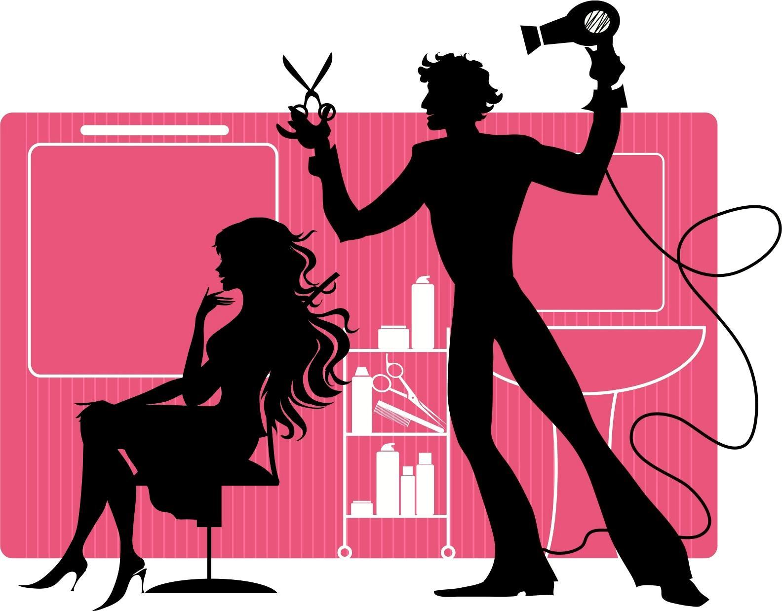 Hair clipart beauty shop  Hair Salon art Beauty