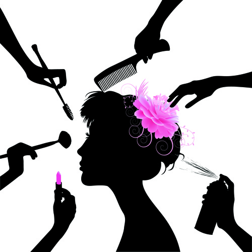 Beautiful clipart cosmetology Salon clipart Clipart Manicure in