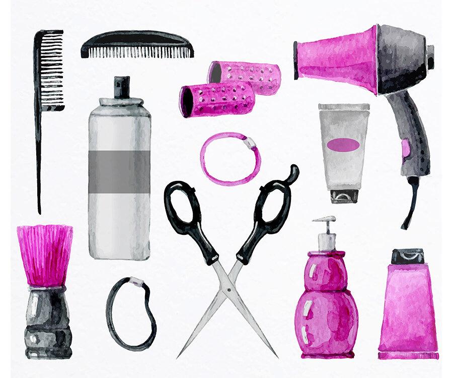 Hair clipart beauty shop Tools Hair Salon Hair Salon