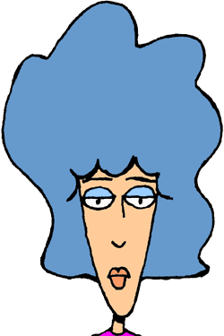 Hair clipart big hair Who a may these World