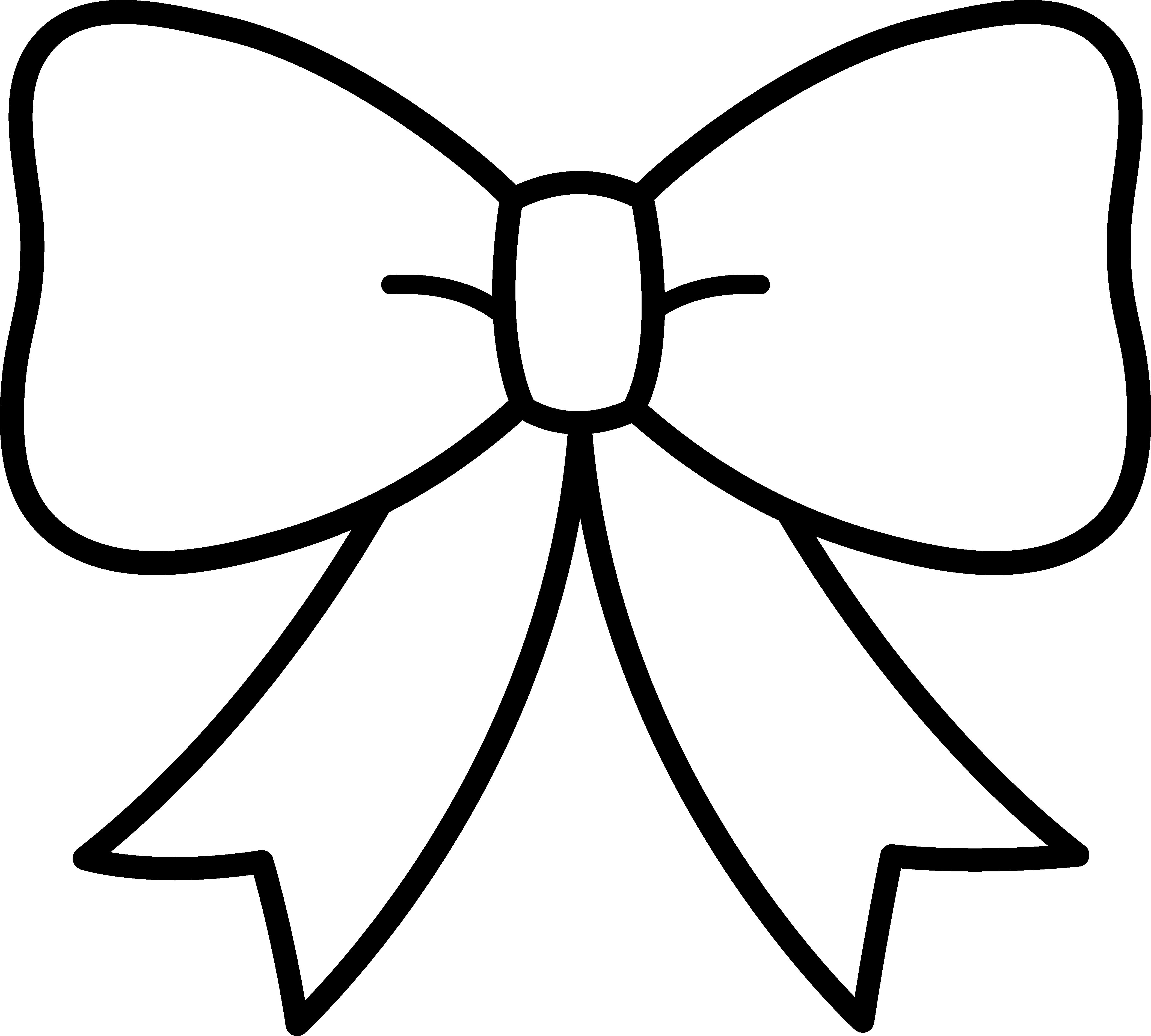 Tie clipart black bow ribbon Images White And Free Clipart