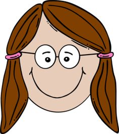 Brown Hair clipart boy head Face online online clip Smiling