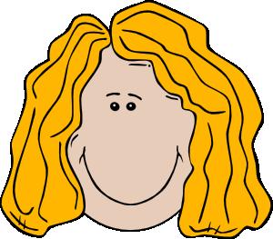 Hair clipart cartoon Art Face Lady Cartoon Clip