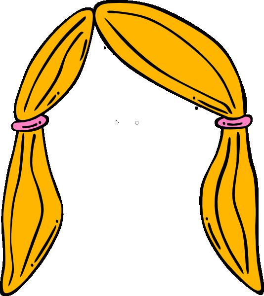 Hair clipart cartoon Clip Clip Blonde Art Clipart