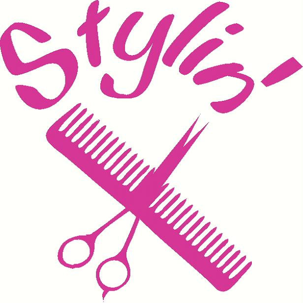 Hair clipart cosmetology Salon Cosmetology cliparts Clipart Pink