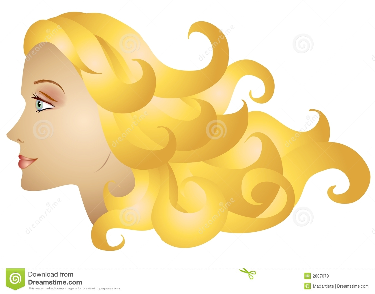 Hair clipart curly hair wig Clip Curly Curly cliparts Art