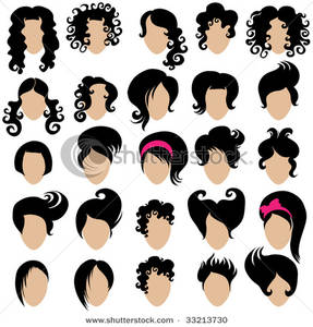 Hair clipart curly hair wig Black Wigs Wigs Clipart Hair