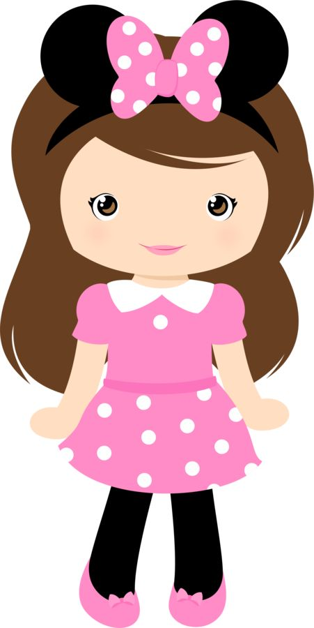 Bud clipart lady Cute girl cute collection People