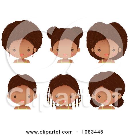 Hair clipart cute Girl Hair Royalty Girl Braided