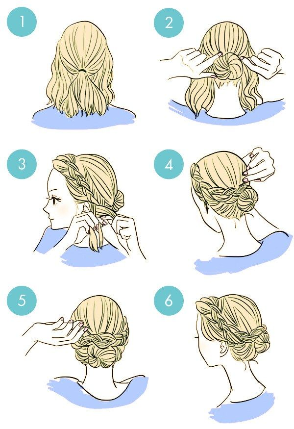 Hair clipart easy Bow short A the in