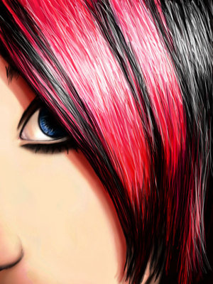 Hair clipart emo The Graphics: the is for