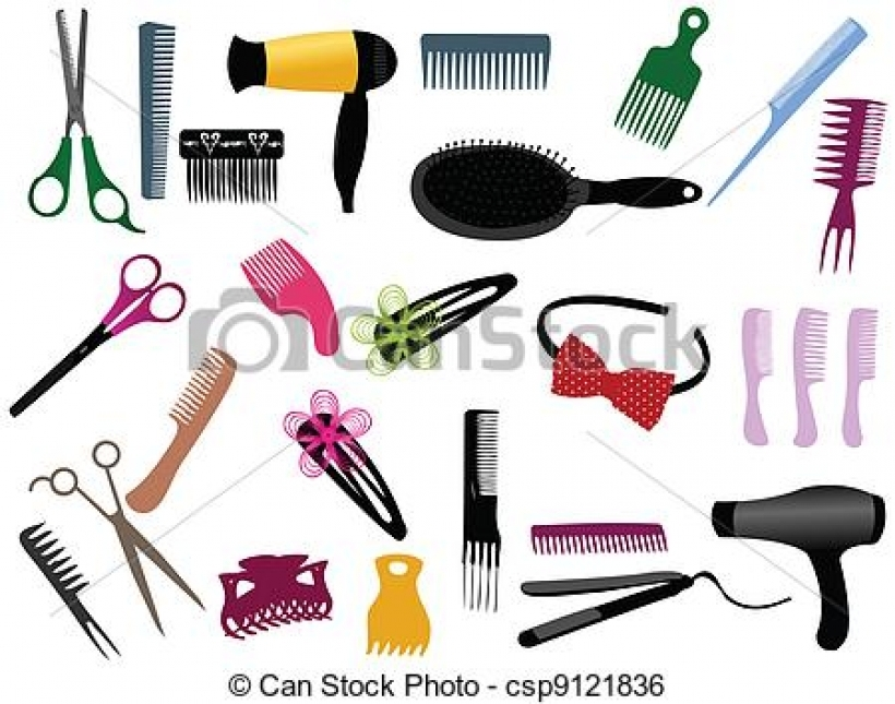 Hair clipart equipment Clipart hair equipment equipment hairdresser
