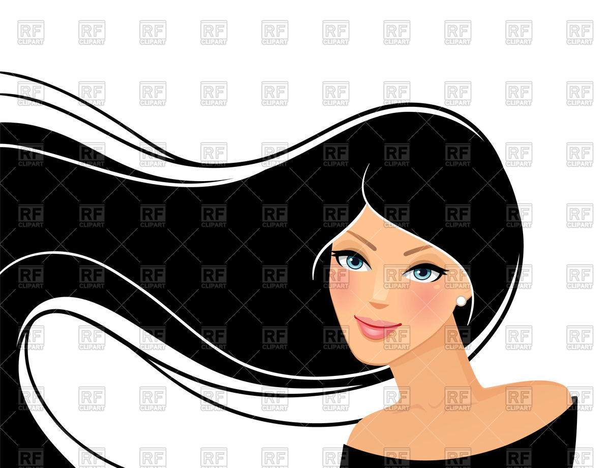Woman clipart black hair With Black Woman with Clip