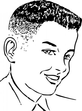 Hair clipart flat top Art Download Clip Brush Page
