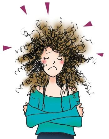 Hair clipart frizzy Frizzy Medimanage hair it how