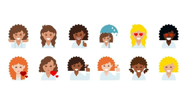 Hair clipart frizzy Dove Curly Hair Dove Download