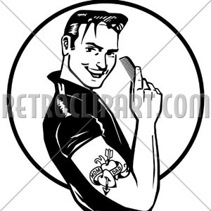 Hair clipart greaser My and in Information OPEC