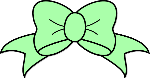 Hair clipart green Bow image Download as: Seafoam