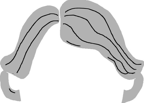 Hair clipart grey hair Art at Hair Clip online