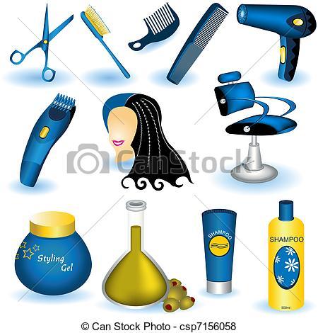 Hair clipart hair care Hair hair csp7156058 collection care