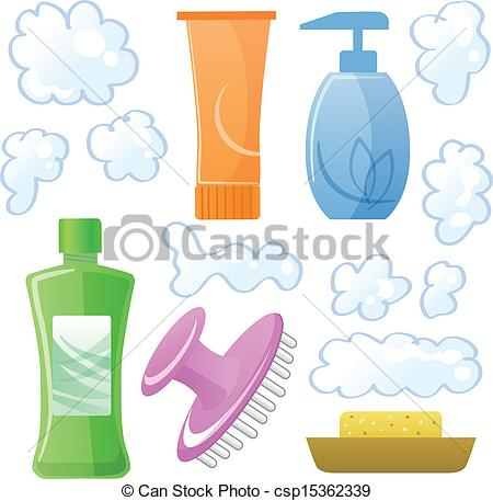 Hair clipart hair care And body and Vectors hair
