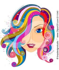 Hair clipart hair care For clipart Beauty Wavy Hair