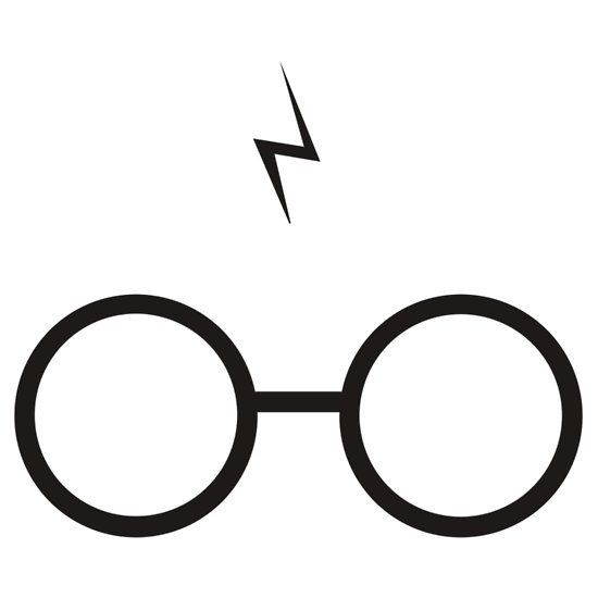 Lightening clipart harry potter #harrypotter like ideas is silhouette
