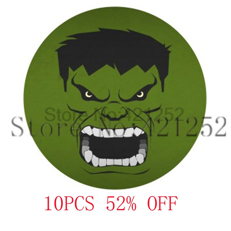 Hair clipart hulk Necklace  hulk bookmark cufflinks
