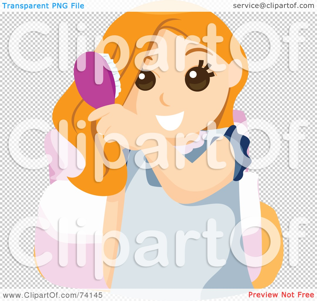 Red Hair clipart brush Clipart hair Illustration Free collection