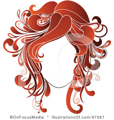 Red Hair clipart hair colour Gallery Design Gallery Salons Logo