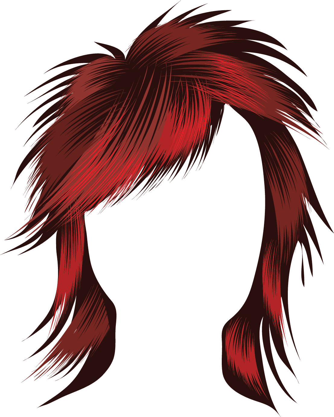 Red Hair clipart long hair Illustration Hair Clipart Boys ClipartMe