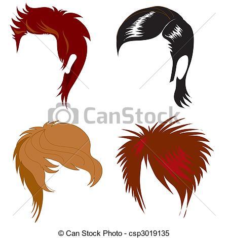 Hair clipart illustration Of hair styling Clipart hair