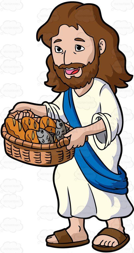 Hair clipart jesus Bread Carrying Cartoon on Pinterest