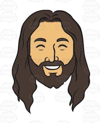 Hair clipart jesus Eyes Of Smiling on Pinterest