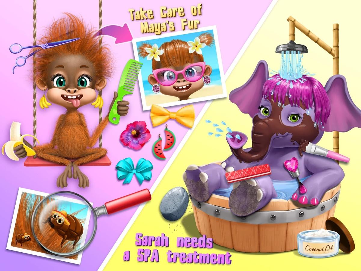 Hair clipart just hair  Makeover Tropical Animal 2