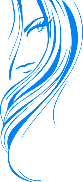 Hair clipart line art Cliparting free page art images