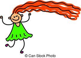 Hair clipart long hair #10