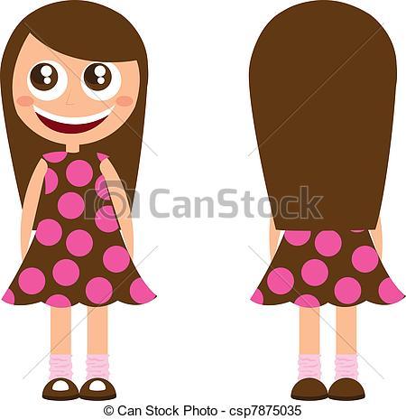 Hair clipart long hair #11