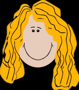 Hair clipart long hair #7