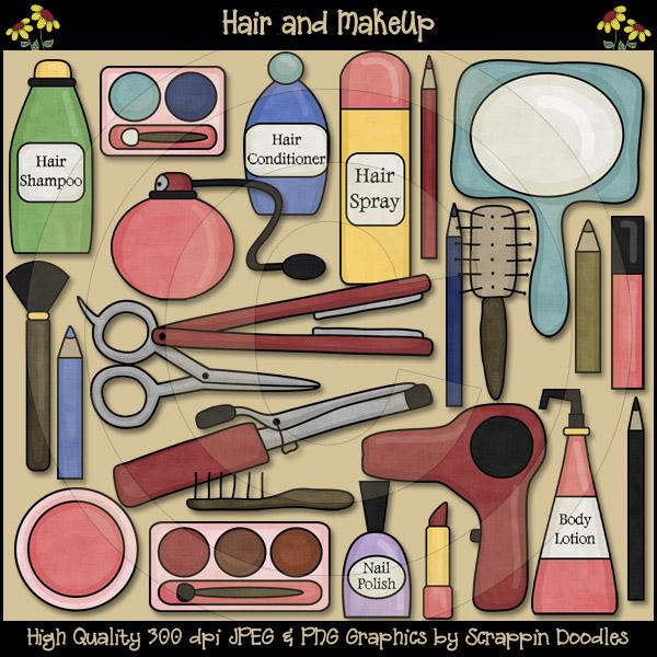 Makeup clipart hair Hair 00 & Clip