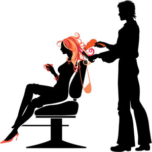 Hair clipart makeup artist A Hairstylist Hairstylist and and