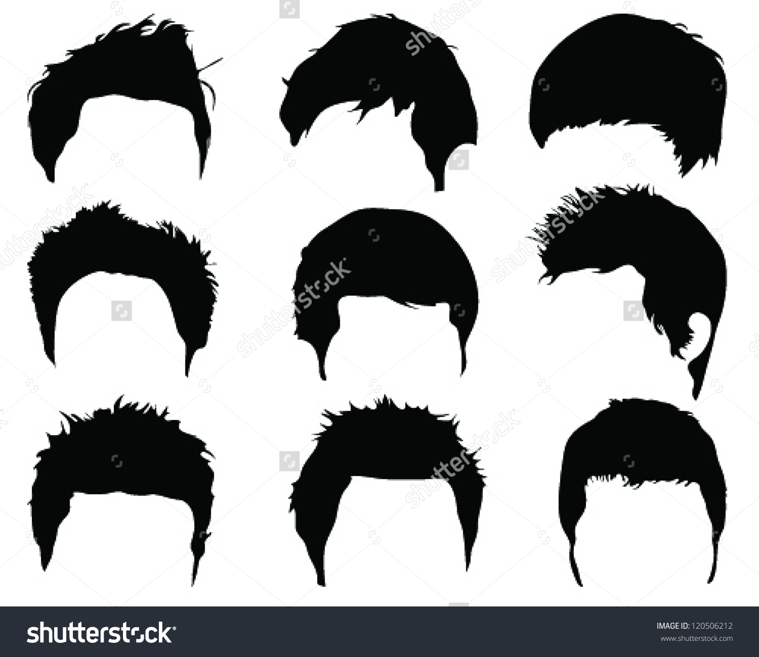 Photos clipart hairstyle #1