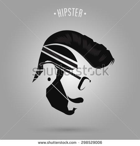 Black Hair clipart mens hair Man logo man style art