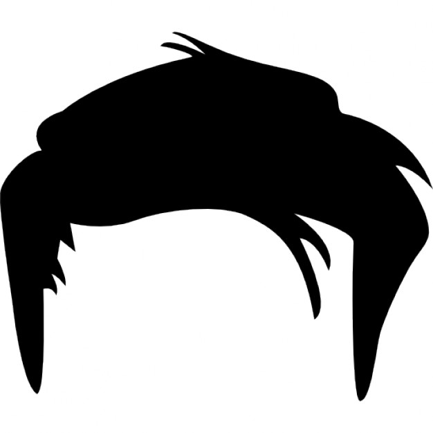 Short Hair clipart mens hair Black Hair And White Wig