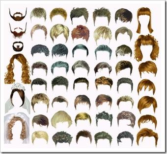 Hair clipart mens hair Women File and Men Edit