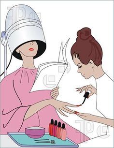 Hair clipart nail salon Salon Tech Humor! Quotes Salon