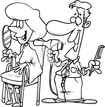 Hair clipart parlor #9