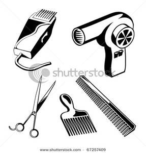 Hair clipart parlor #2